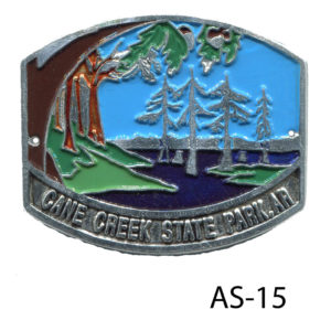 Cane Creek State Park medallion