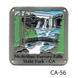 McArthur-Burney Falls Medallion