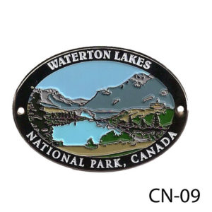 Waterton Lakes Medallion