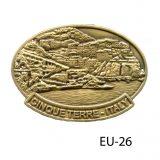Cinque Terra medallion