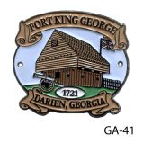 Fort King George Medallions
