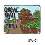 Great Wall of China medallion