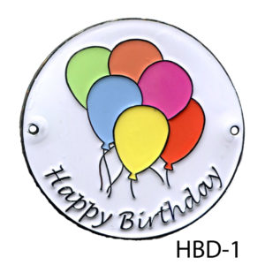 Happy Birthday Medallion