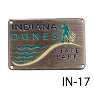 Indiana Dunes State Park Medallion