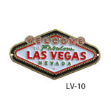 Las Vegas Welcome Sign medallion