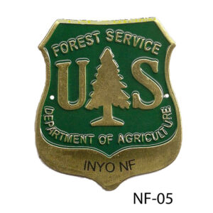Inyo National Forest Hiking Medallion