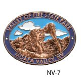 Valley of Fire State Park Medallion