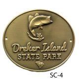 Dreher Island Hiking Medallion