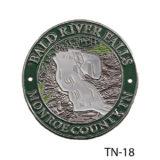 Bald River Falls Medallion