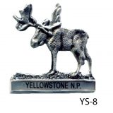 Yellowstone Moose Medallion